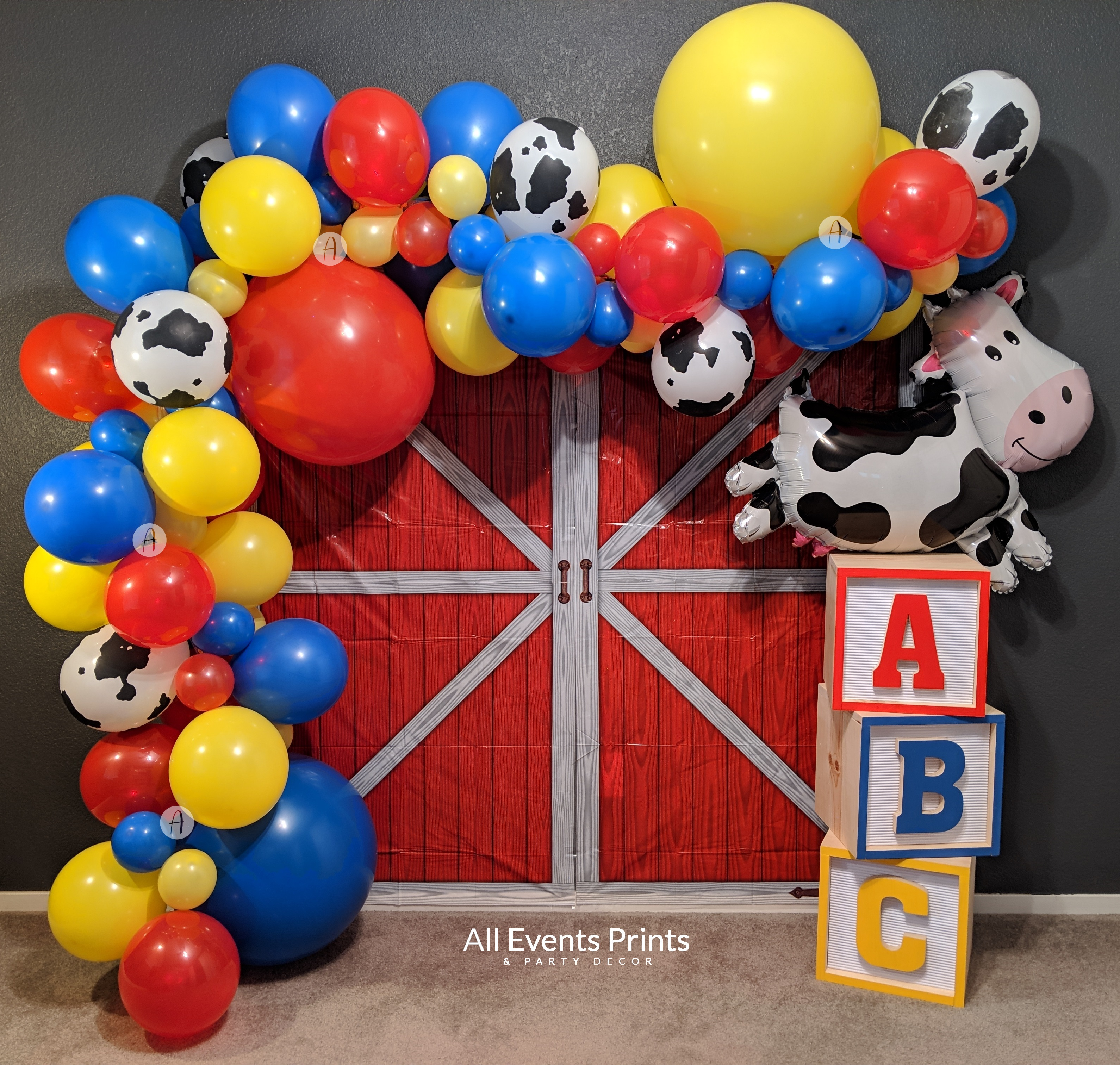Toy Story Inspired Balloon Garland Diy 10 15 Ft Baby Shower Birthday Party Etc Includes Pump Wall Hooks All Events Prints Party Decor