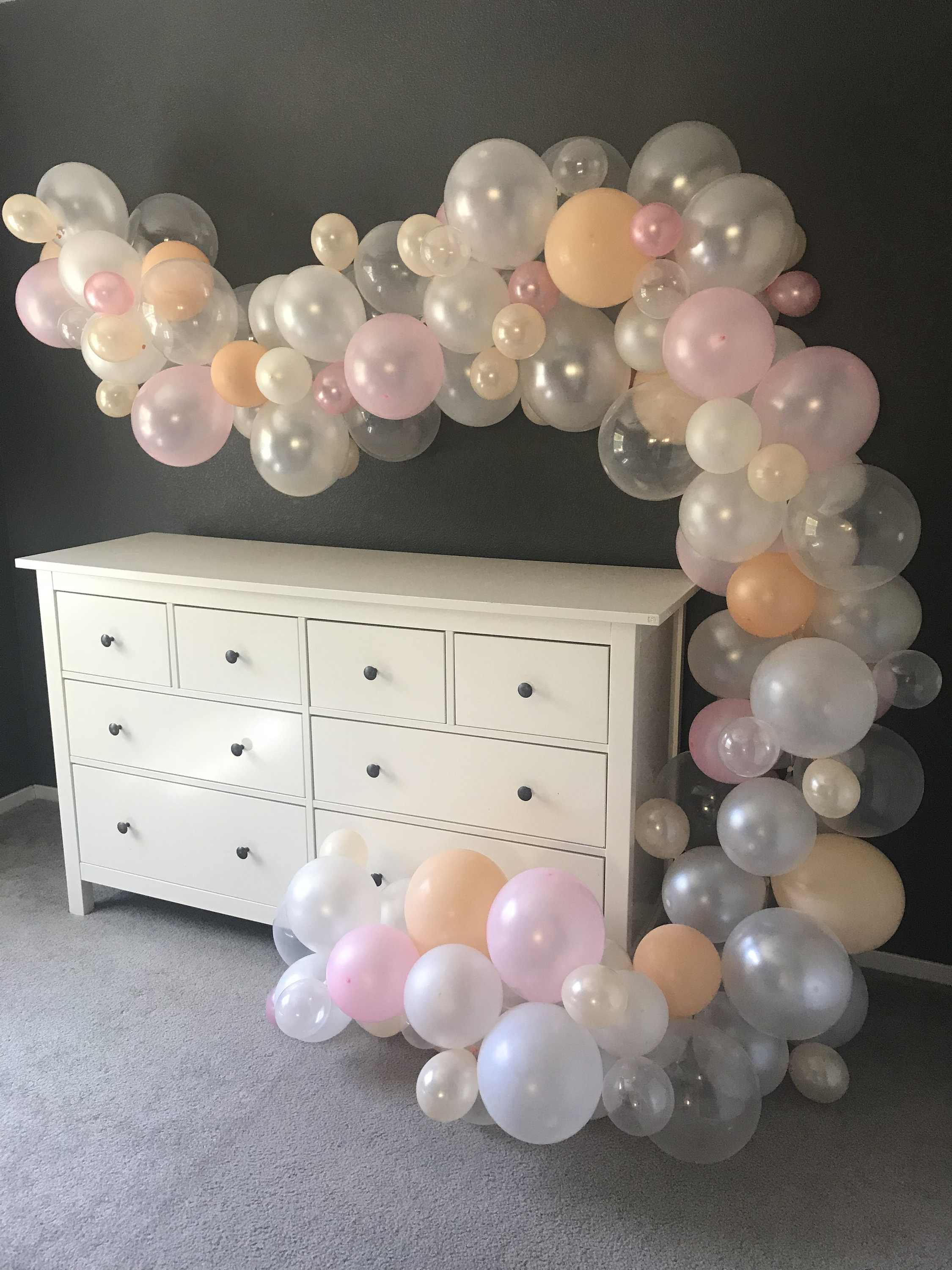 Diy Balloon Arch Kit 15 Ft Bridal Shower Baby Shower Birthday Party Decoration Balloon Decoration All Events Prints Party Decor